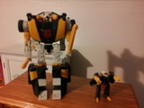 Transformers Wheeljack w/ Wind Sheer Unicron Trilogy