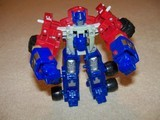 Transformers Optimus Prime w/ Sparkplug Unicron Trilogy