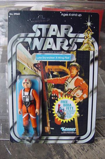 Star Wars Luke Skywalker - X-wing Vintage Figures (pre-1997)