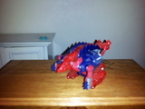 Transformers Dillo (Red) Beast Era
