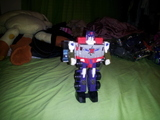 Transformers Optimus Prime Machine Wars