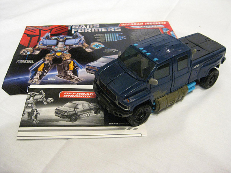 Transformers Offroad Ironhide Transformers Movie Universe