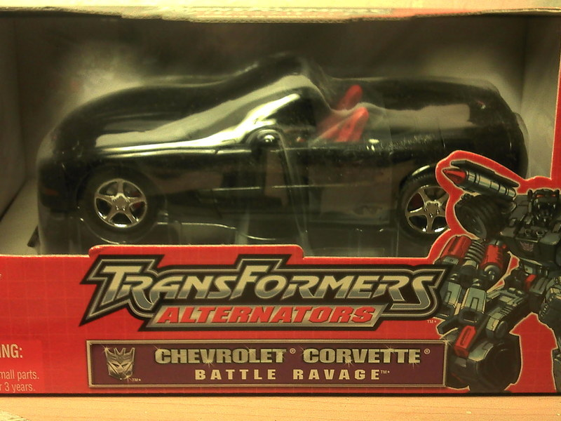 Transformers Battle Ravage Alternators