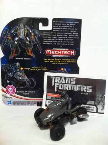 Transformers Backfire w/ Spike Witwicky Transformers Movie Universe