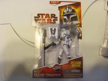 Star Wars Clone Trooper w/ Space Gear Episode II - Attack of the Clones