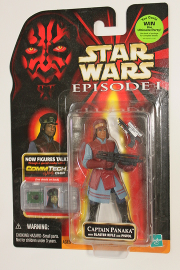 Star Wars Captain Panaka Episode I - The Phantom Menace