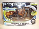 Transformers Megatron w/ Blastwave Weapons Base Transformers Movie Universe