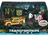 transformers Bumblebee &amp; Arcee Transformers Prime