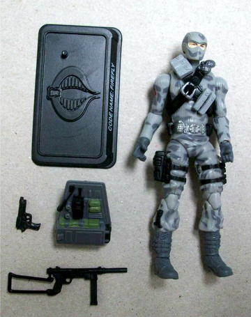 G.I. Joe Cobra Saboteur - Code Name: Firefly 25th Anniversary