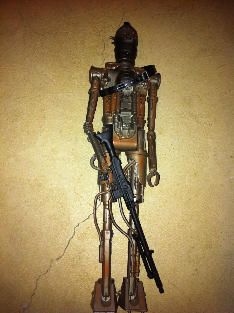 Star Wars IG-88 with Rifle and Imperial Blaster Power of the Jedi (POTJ)