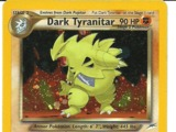 Pokemon Dark Tyranitar EX
