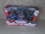 Transformers Optimus Prime vs. Megatron Animated