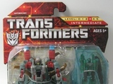 Transformers Windburn w/ Darkray Power Core Combiners