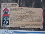 G.I. Joe Hiss Driver Classic Collection