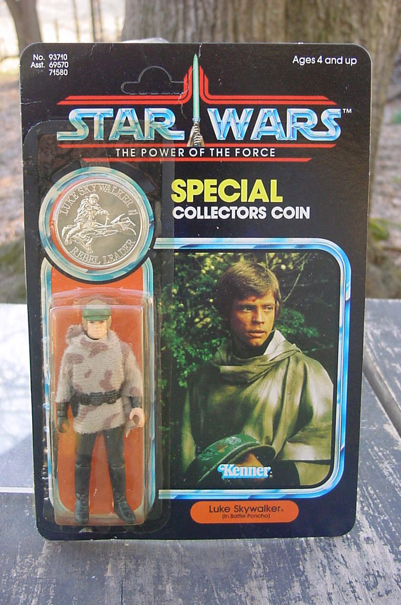 Star Wars Luke Skywalker (Battle Poncho) Vintage Figures (pre-1997)