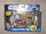 Star Wars Republic Scout Speeder with ARF Trooper Episode II - Attack of the Clones image 0