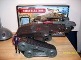 G.I. Joe Cobra H.I.S.S. Tank with H.I.S.S. Driver Pursuit of Cobra