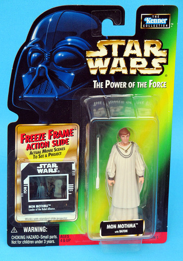 Star Wars Mon Mothma with Baton Power of the Force (POTF2) (1995)