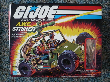 G.I. Joe A.W.E Striker Classic Collection