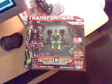 Transformers Mudslinger (Destructicons 5-Pack) Power Core Combiners