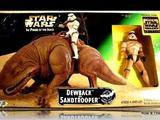 Star Wars Dewback with Sandtrooper Power of the Force (POTF2) (1995) image 0